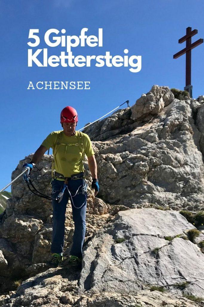 5 Gipfel Klettersteig am Achensee