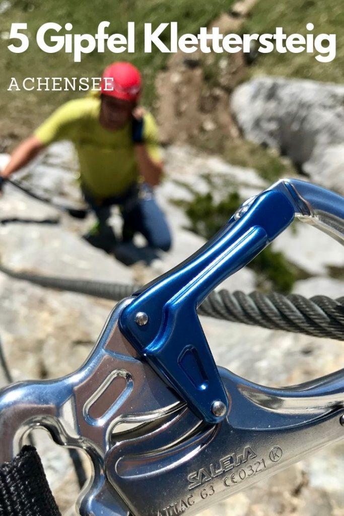 Sehr reizvoller Rofan Klettersteig - 5 Gipfel Klettersteig am Achensee