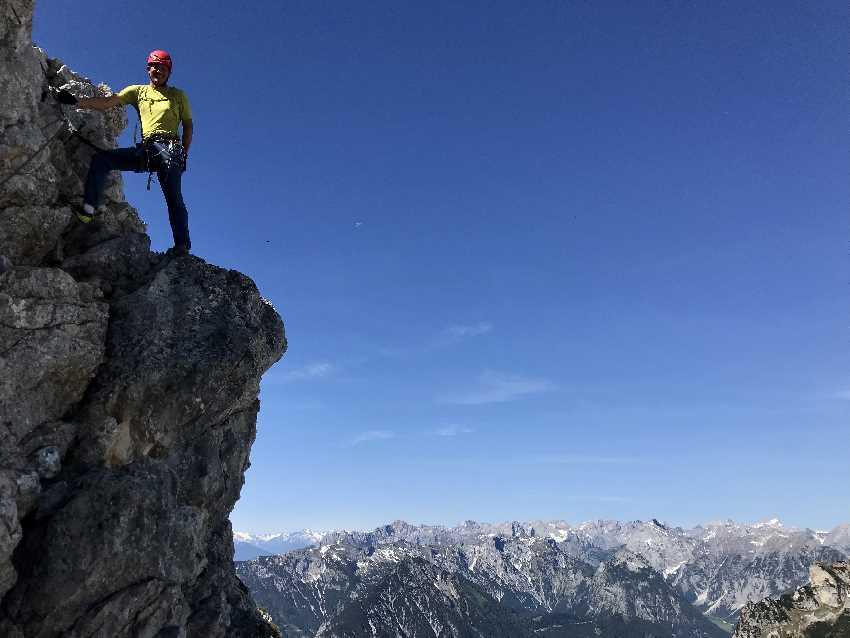 Rofan Klettersteig - aussichtsreiche Klettersteige im Rofangebirge, von leicht bis schwierig