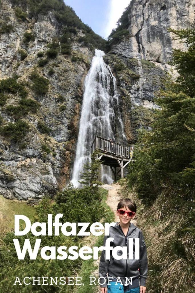 Dalfazer Wasserfall - Pin gleich bei Pinterest merken!