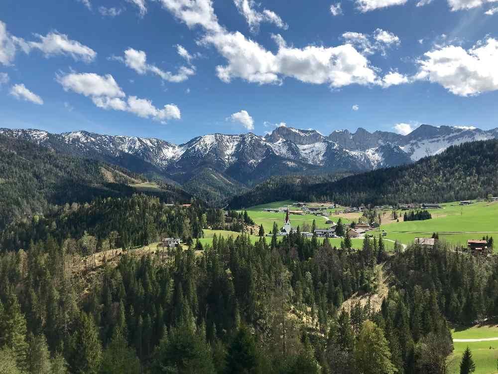 Steinberg am Rofan - mountainbiken im Rofan