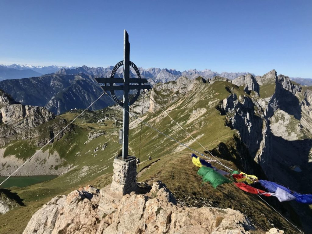 Rofanspitze Gipfel