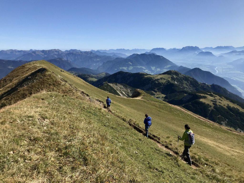 Rofanspitze wandern - das ist dein Ausblick am Gipfel!