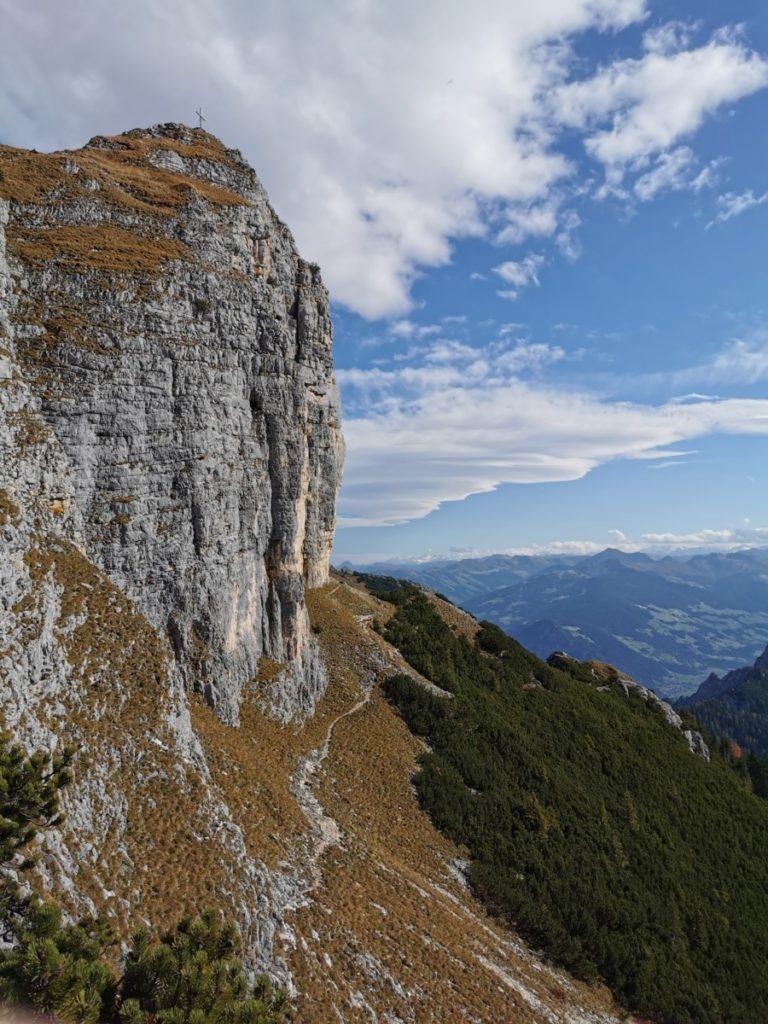 Rotspitze Rofan - krasse Felswand, einmalig schön!