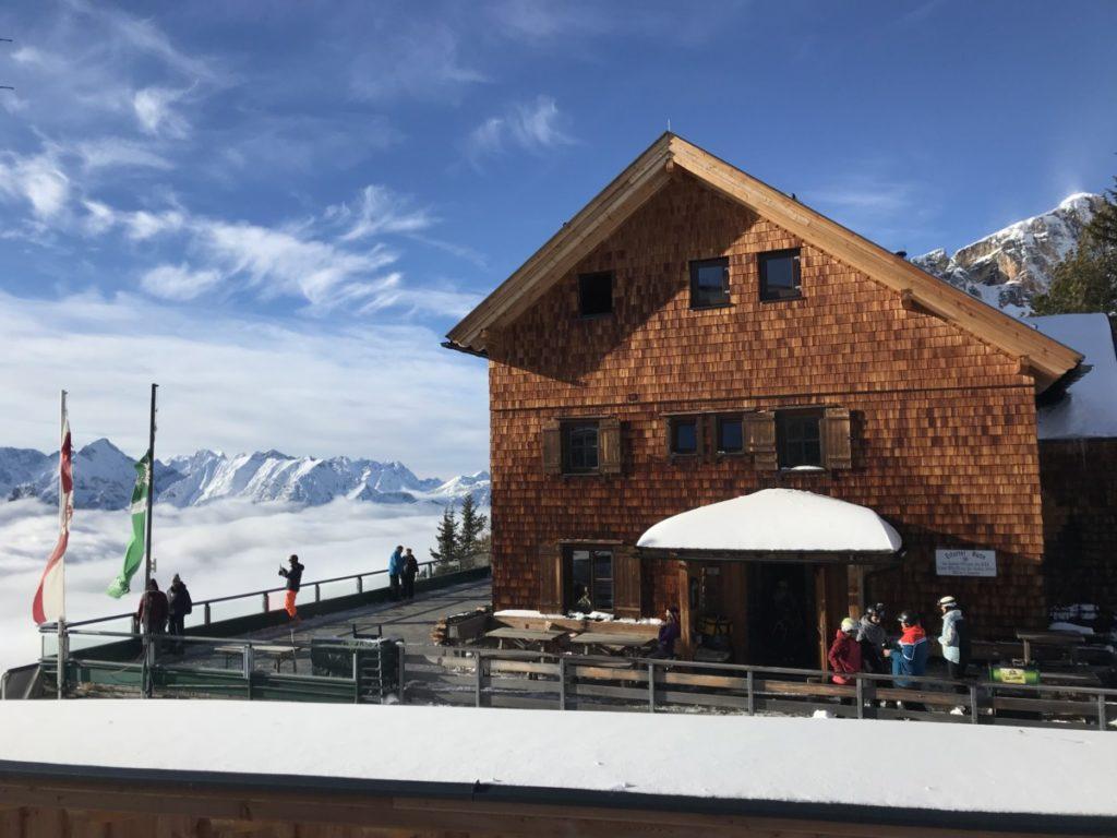 Rofan Skigebiet übernachten - das ist die Erfurter Hütte