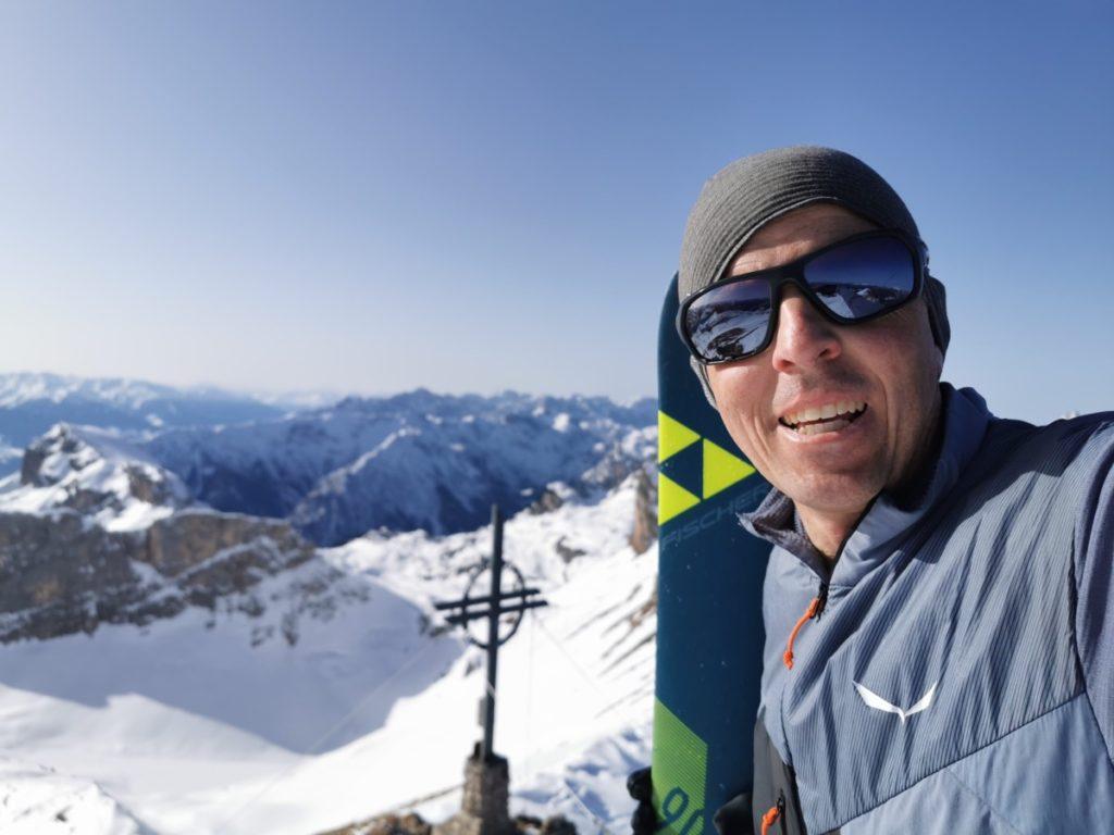 Skitour Rofan - auf der 2259 Meter hohen Rofanspitze