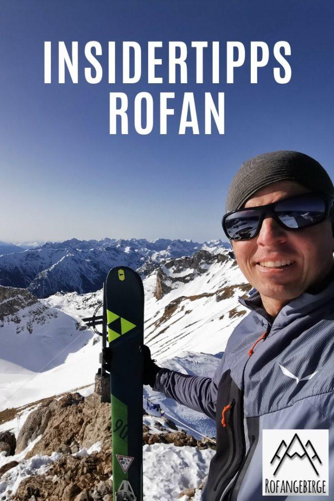 Skitour Rofan merken - mit dem diesem Pin auf Pinterest