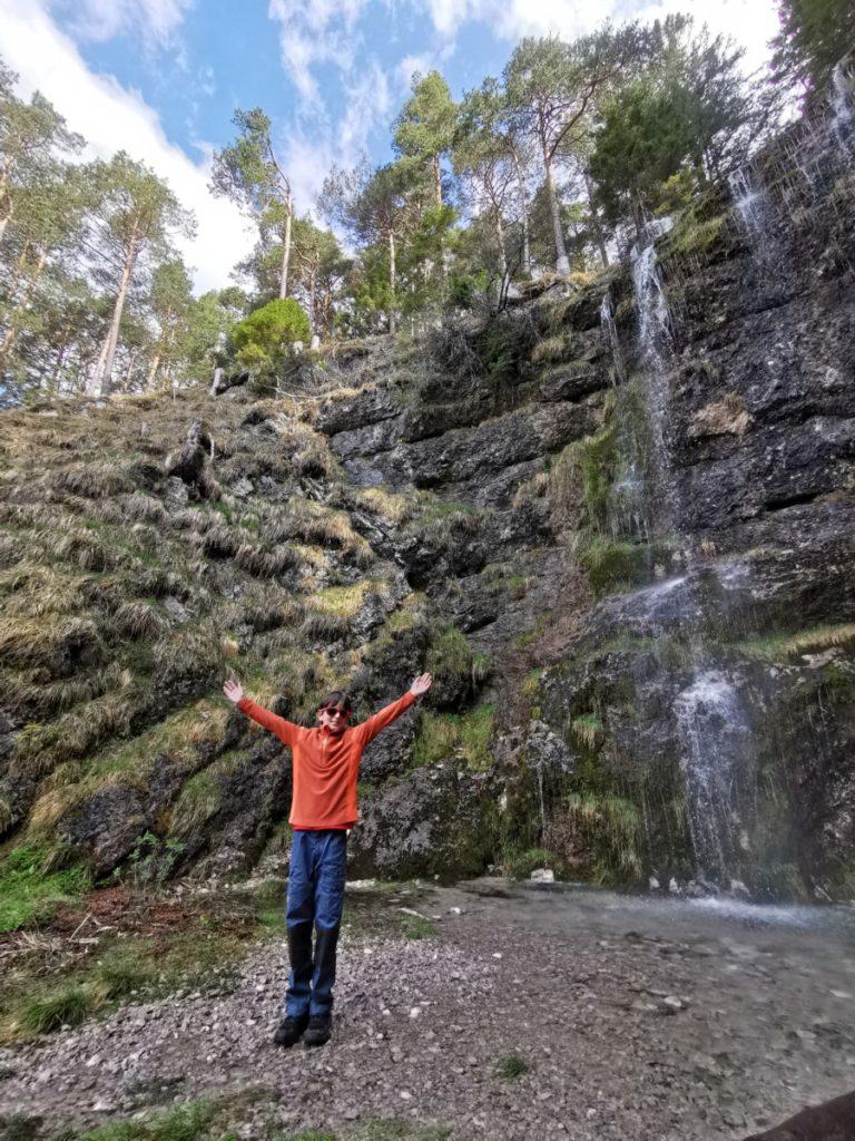 Zum Buchauer Wasserfall im Rofan wandern
