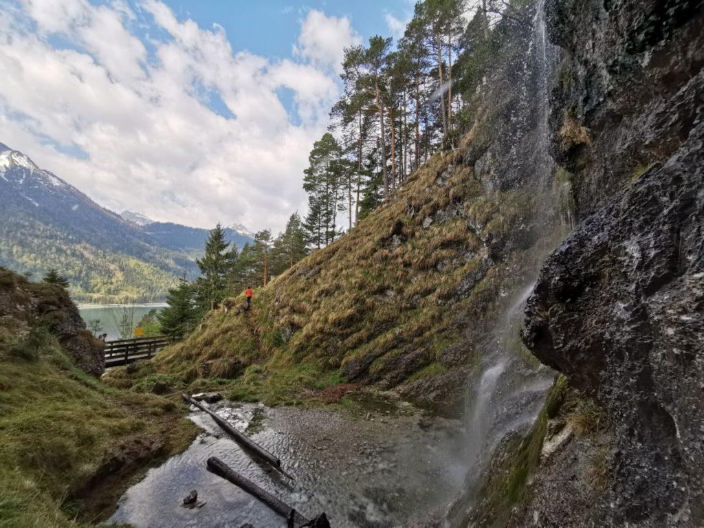 Wanderung Buchauer Wasserfall - das ist dein Wanderziel
