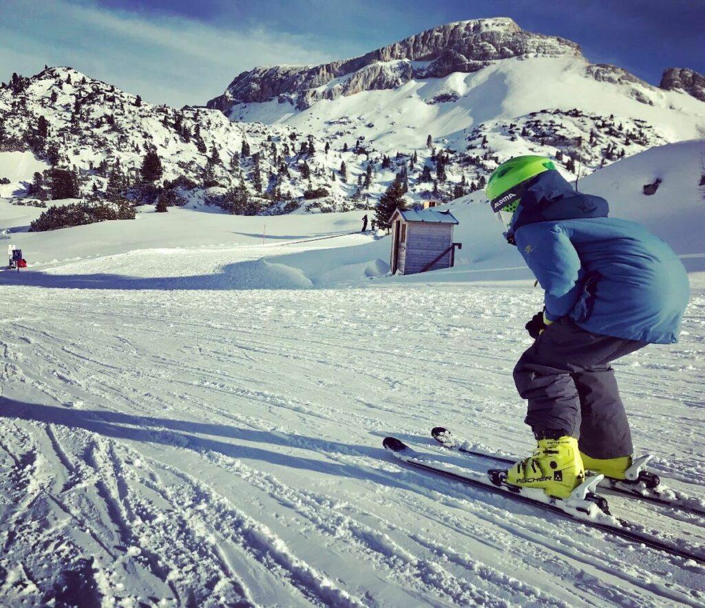 Das familiäre Brandenberger Alpen Skigebiet - vom Achensee geht´s auf die Piste