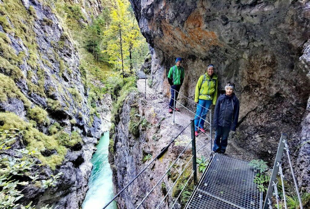 In den Klammen der Brandenberger Alpen wandern
